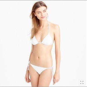 J. Crew NAVY String Bikini Top